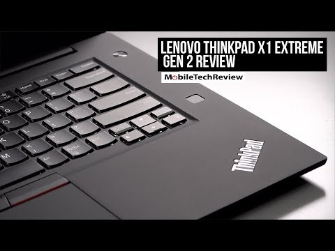 Lenovo ThinkPad X1 Extreme Gen 2 Review